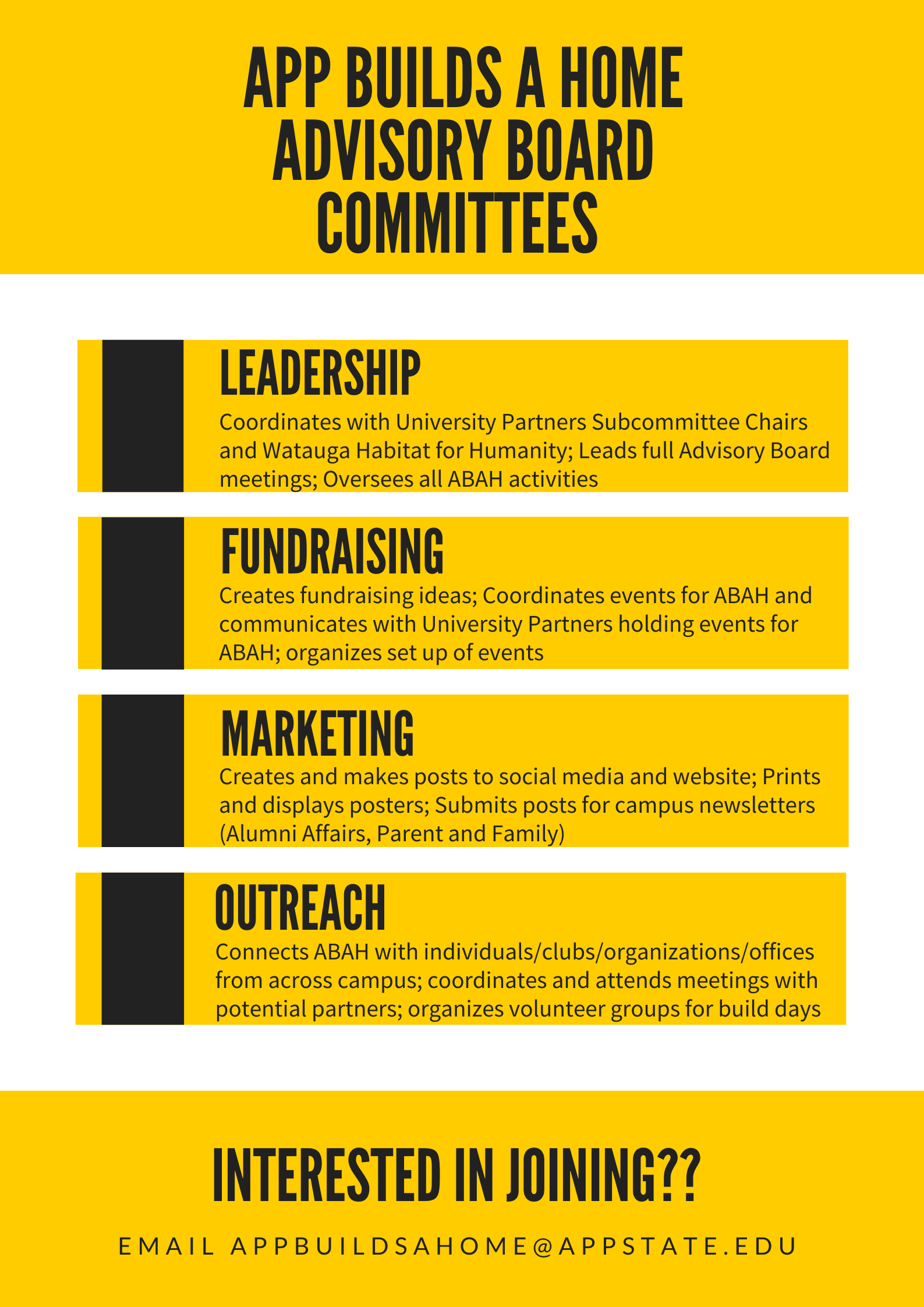 Committee Descriptions  1