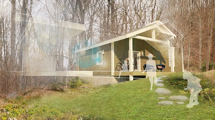 Zero energy ready home exterior